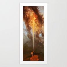 Introcession Art Print