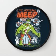 Incredible Meep Wall Clock