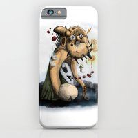 Ectoplasmic Manifestation of Undue Concern - Aunt no. 1 iPhone 6 Slim Case