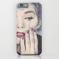 iPhone & iPod Case featuring The tears of a mortal by kate gabrielle