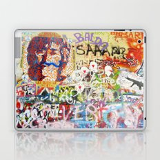 Peace on Earth - Love - Because the World is Round it Turns me On Laptop & iPad Skin