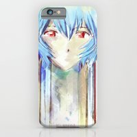 Rei Ayanami from Evangelion Digital Mixed Media iPhone 6 Slim Case