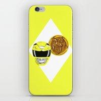 Yellow Ranger iPhone & iPod Skin