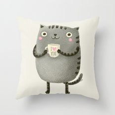 I♥you Throw Pillow