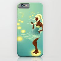 iPhone & iPod Case featuring Herbal Remedies: Dandelion by Jenny Lloyd Illustration