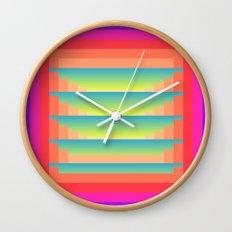 GradientGlitch v.4 Wall Clock