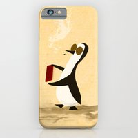 iPhone & iPod Case featuring Fishface and the Blue Penguin share a moment. by David Finley