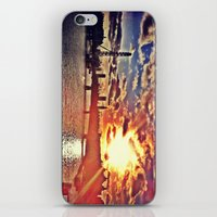 Sunset Over London iPhone & iPod Skin