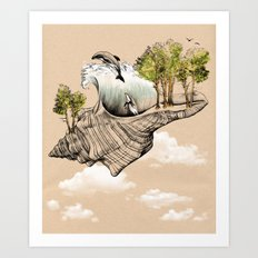 Daydream Island Art Print