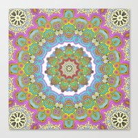 Mix&Match Indian Candy 0… Canvas Print