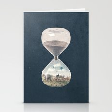 There's A City Where Time Stopped Long Ago Stationery Cards
