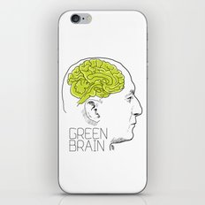 GREEN BRAIN iPhone & iPod Skin