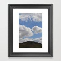 Dartmoor Tor Framed Art Print