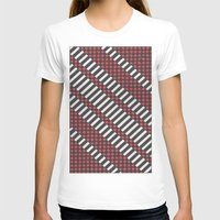 stripes T-shirts featuring Stripes by MissCrocodile63