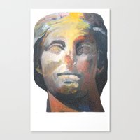 Canvas Print featuring Athena by Anya Smolnikova