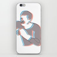 Boxing Ali (coulour) iPhone & iPod Skin