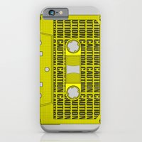 Caution Tape iPhone 6 Slim Case