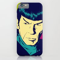 iPhone & iPod Case featuring Spock Logic by Vee Ladwa