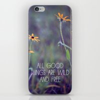All Good Things (Daisy) iPhone & iPod Skin