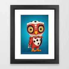 Owly Framed Art Print