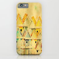 iPhone & iPod Case featuring Bird Town 023 by Lazy Bones Studios