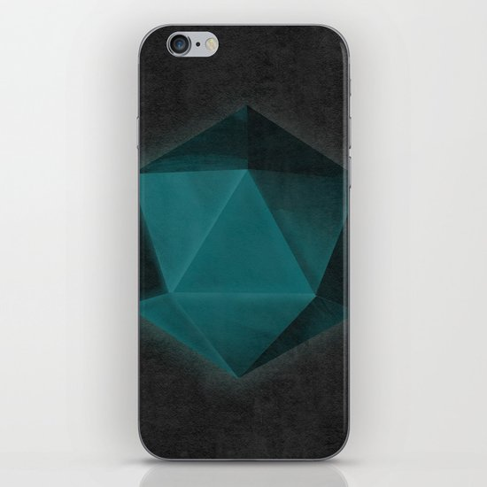 spatial geometry iPhone & iPod Skin