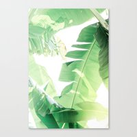 Jungle Abstract II Canvas Print