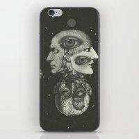 COSMIC ANATOMY  iPhone & iPod Skin