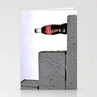 Grit city cola Stationery Cards