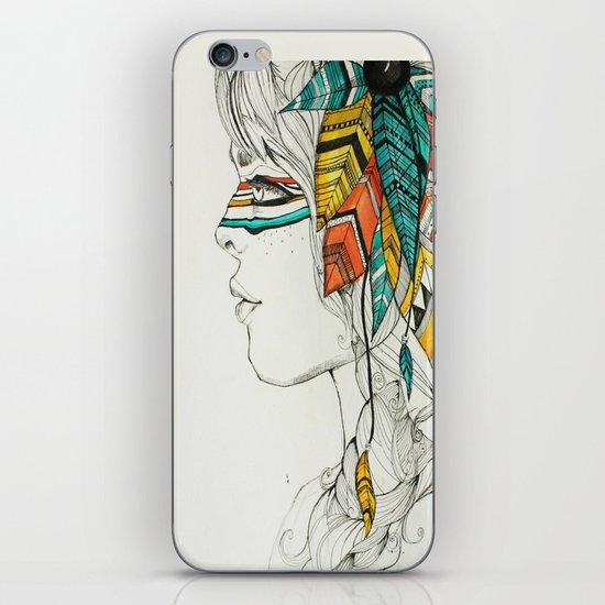 Native Woman iPhone & iPod Skin