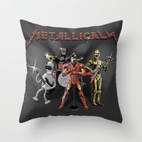 Metallicals (Colaboratio… Throw Pillow