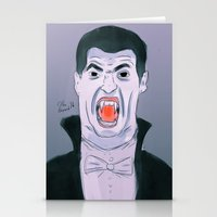 Suarez The Vampire Stationery Cards