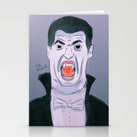 Suarez The Vampire Stationery Cards