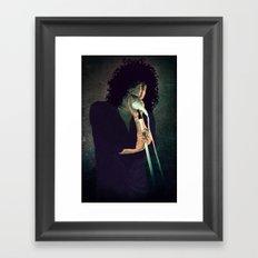 Cedric Framed Art Print