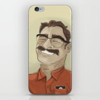Portrait Of Joaquin Phoe… iPhone & iPod Skin