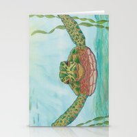 Ripley Sea Turtle Stationery Cards