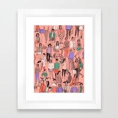 Frankie Cover Framed Art Print
