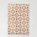 Colorful Circles III Stationery Cards