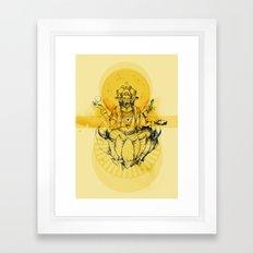 Brahma Framed Art Print