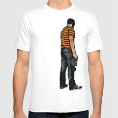 Fresh Air SMALL White Mens Fitted Tee