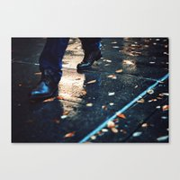 in the evening Canvas Print