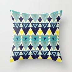 Geometric chic Throw Pillow