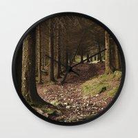 Path Through Forest Near… Wall Clock