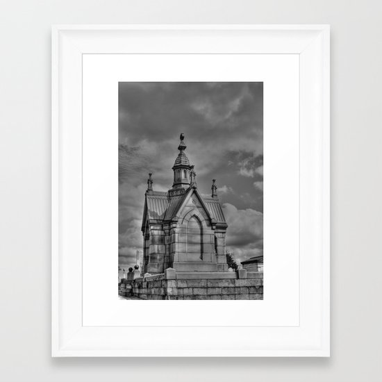 The Mausoleum Framed Art Print