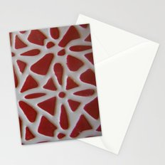 Red Stone Path Stationery Cards