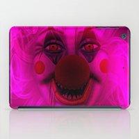 Cotton Candy Clown iPad Case
