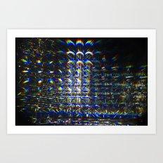 Reflection of a Reflection of a Reflection Art Print