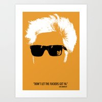Jim Jarmusch Hair Art Print