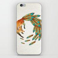 Fox Circle iPhone & iPod Skin