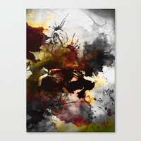 Ink, Love Canvas Print